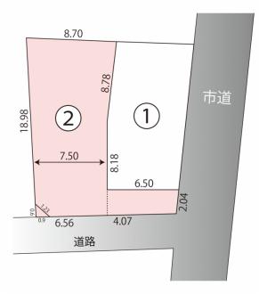 松本市南浅間 売地