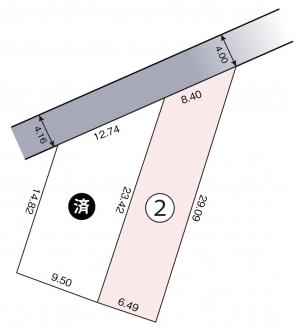 土地 - 長野県塩尻市広丘吉田2902番63