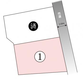 土地 - 長野県松本市寿北5丁目1072番1の内