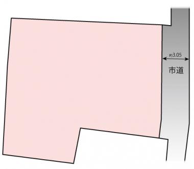 土地 - 長野県松本市村井町南一丁目243-11、243-15