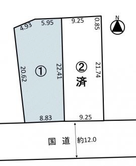 土地 - 長野県松本市島内3710-2の内