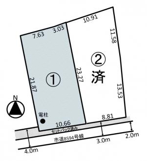 土地 - 長野県松本市島内7147番1の内