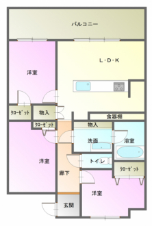 マンション - 長野県松本市筑摩4丁目4306番地5
