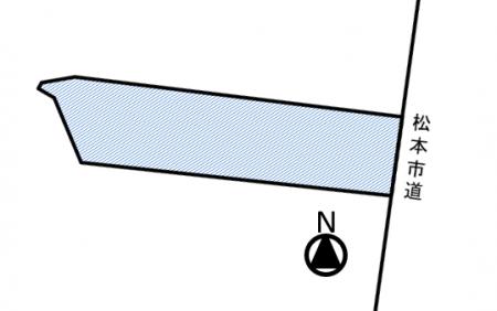 松本市水汲 土地