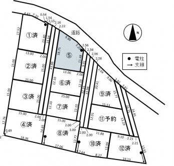 土地 - 長野県松本市神林字やしき264番の内