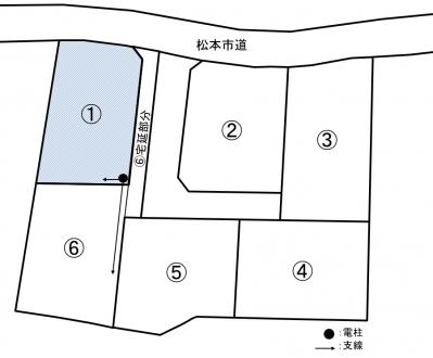 土地 - 長野県松本市里山辺