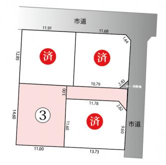 土地 - 長野県松本市南原