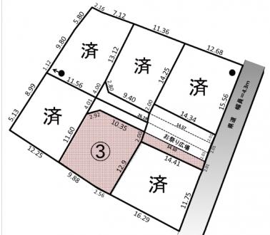 土地 - 長野県松本市今井